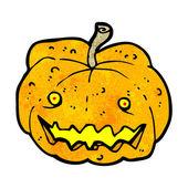 Pumpkin cartoon — Stock Vector