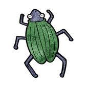 卡通甲壳虫 — 图库矢量图片