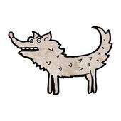 Scruffy dog cartoon — Stock Vector