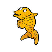 Orange Koi Fish — Stock Vector