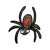 Spider cartoon — Stock Vector