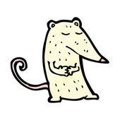 Kreskówka laboratorium szczurów — Wektor stockowy