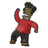 Omdlenia kreskówka mężczyzna — Wektor stockowy