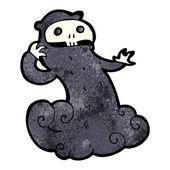 Cartoon spooky ghost — Stock Vector