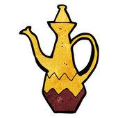 卡通咖啡罐 — 图库矢量图片