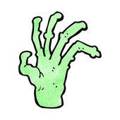Monster Hand — Stock Vector