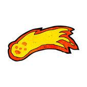 мультфильм метеор — Cтоковый вектор