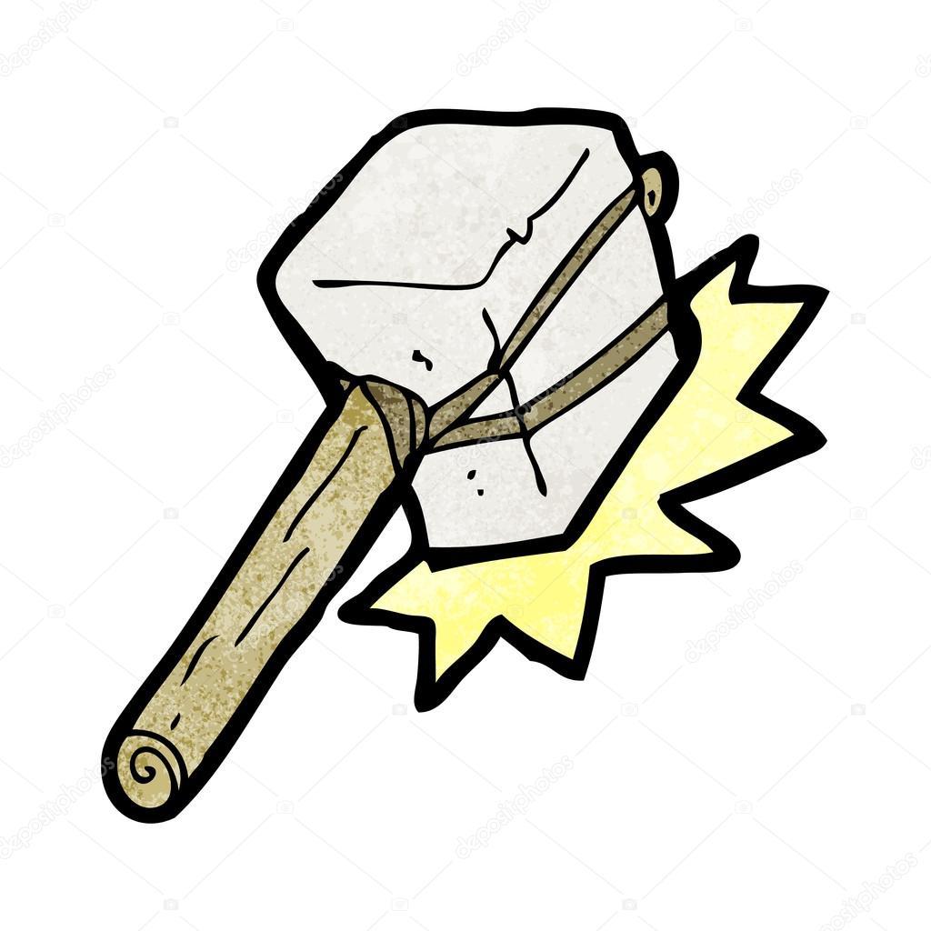 Dessin anim pierre marteau image vectorielle - Dessin de marteau ...