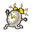 Cartoon alarm clock — Stockvektor #21550225