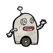 Futuristic Robot — Stock Vector
