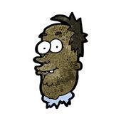 Homem feio dos desenhos animados — Vetorial Stock