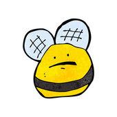 Cartoon cute bee — Stock Vector