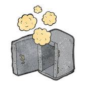 пыльный старый безопасной ретро мультфильм — Cтоковый вектор