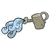 Watering can cartoon — Stock Vector
