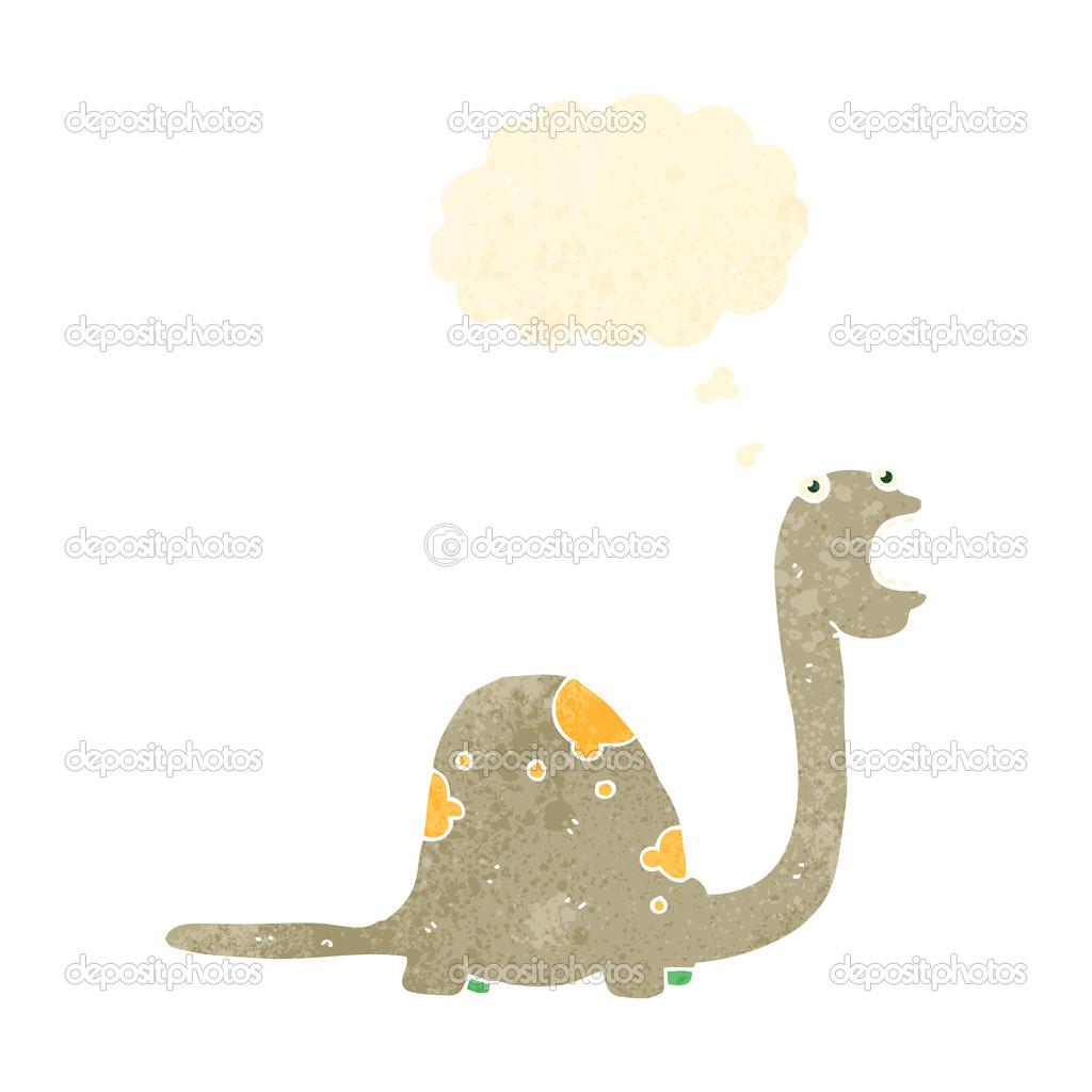 复古卡通恐龙