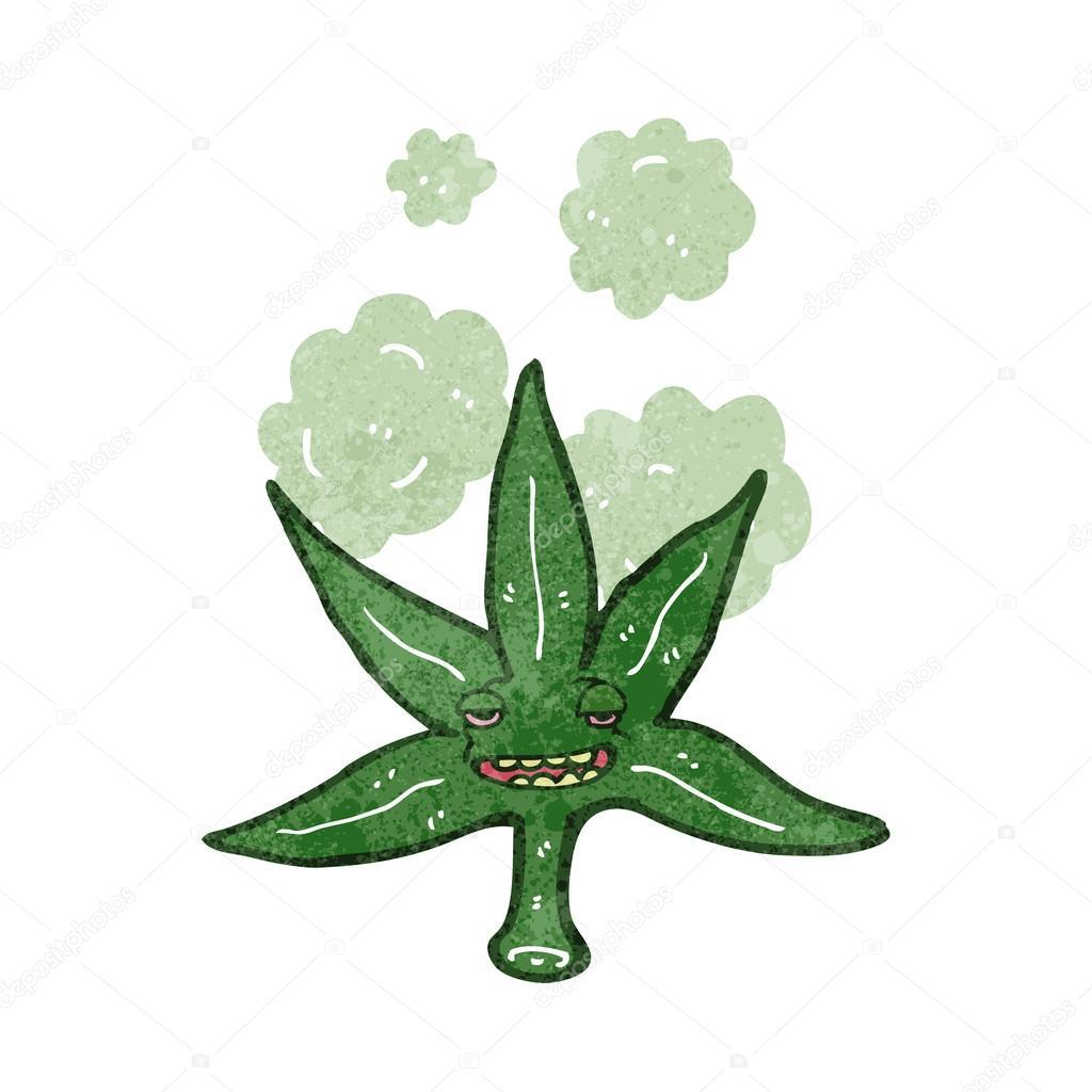 Hoja de Marihuana Dibujo a Mano Hoja de Marihuana Dibujos