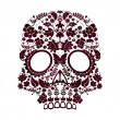 Day of the dead skull design — Stock vektor
