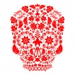 Day of the dead skull — Stock vektor