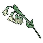 Cartoon flowers — Stock Vector
