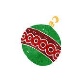 Dibujos animados de adorno de navidad — Vector de stock