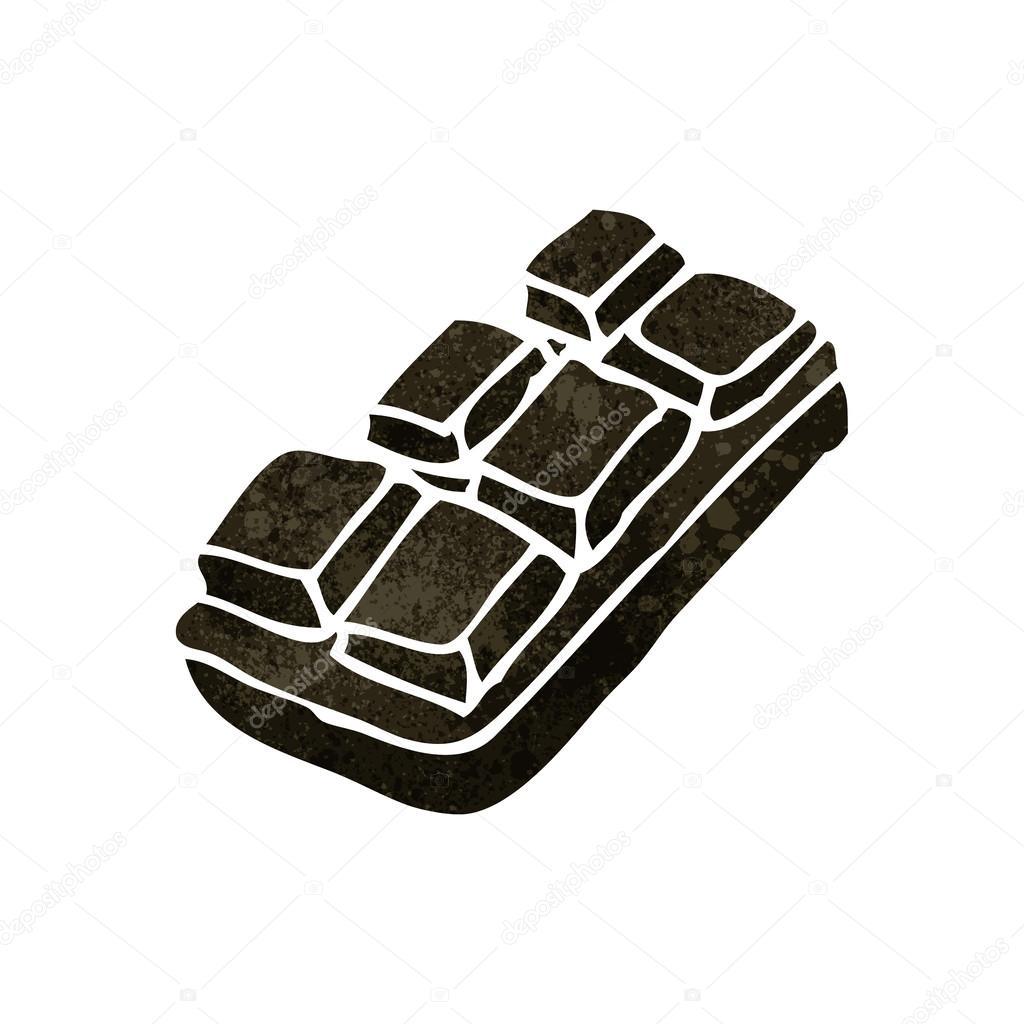 Tablette de dessin anim de chocolat image vectorielle lineartestpilot 29038011 - Dessin tablette chocolat ...