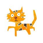 Cartoon cat — Stock Vector #29101787