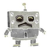 Cartoon-roboter — Stockvektor