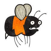 Cartoon little bee — Stock Vector