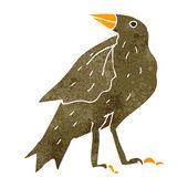Cartoon cute bird — Stock Vector