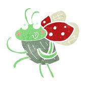 Cartoon bug — Stock Vector