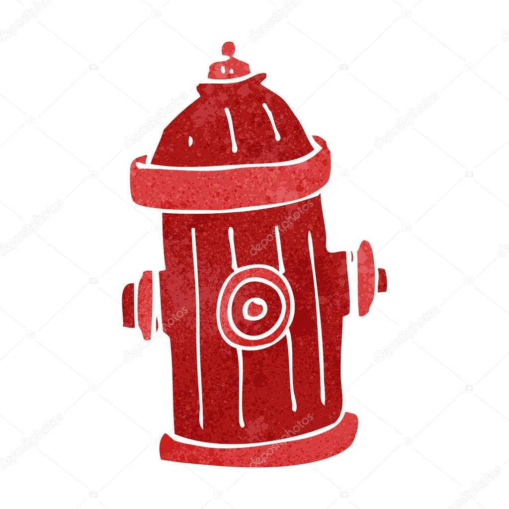 Fire Hydrant Cartoon -...