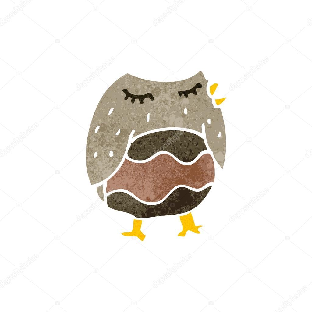 Retro owl cartoon - photo#14