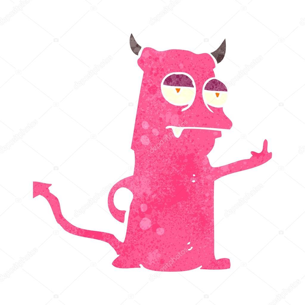 Little Devil Cartoon  Viewing Gallery