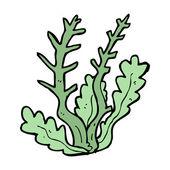 Cartoon alga — Stock Vector
