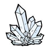 Cartoon crystals — Stock Vector