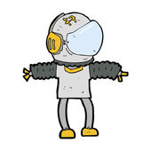 Cartoon spaceman — Stock Vector