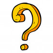 Question sign — Stock Vector