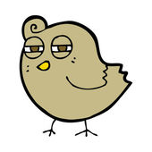 Weinig kip — Stockvector