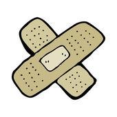 Sticking plaster — 图库矢量图片