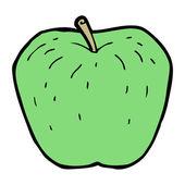 Cartoon apple — Stock Vector