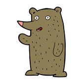 Cartoon animal character — Stock Vector