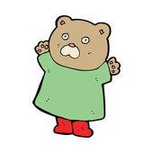Мультипликационный медведь — Cтоковый вектор