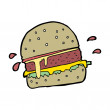 Burger — Stock Vector #36254913