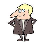 Człowiek kreskówki — Wektor stockowy