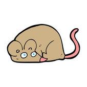 Tecknad mus — Stockvektor