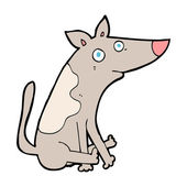 мультфильм собака — Cтоковый вектор