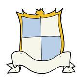 Heraldry cartoon — Stock Vector