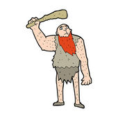 Neanderthal — Stock Vector