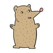 Cartoon brown animal — Vetorial Stock
