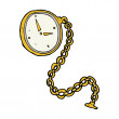 Cartoon gold watch — Vecteur #38158385
